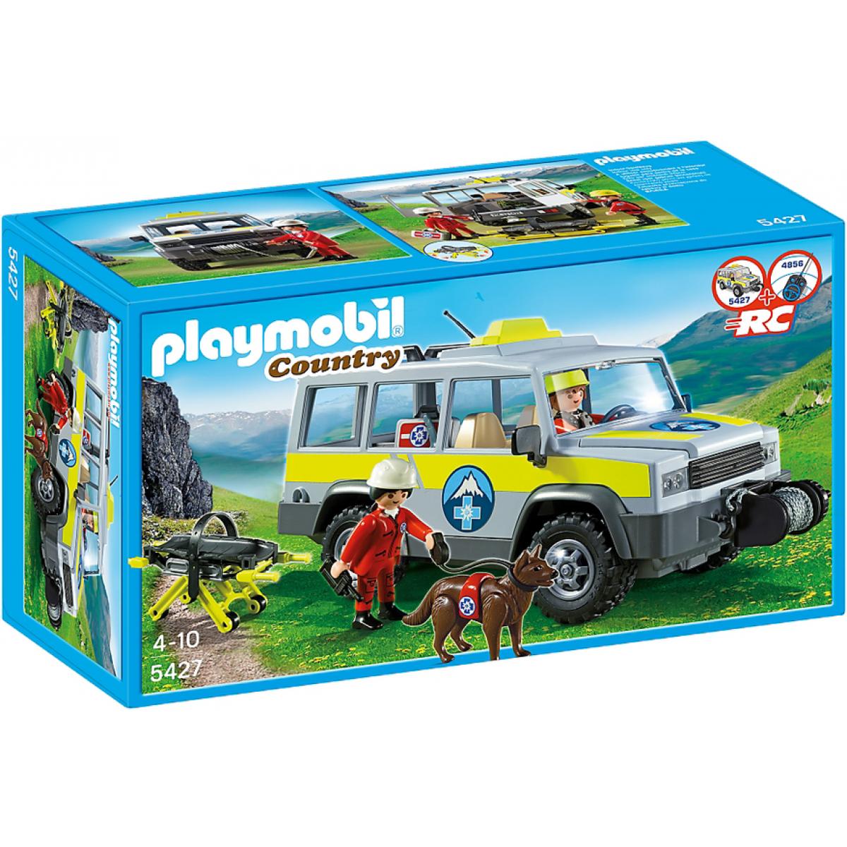 Playmobil 5427 - Terénní auto horské služby