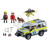 Playmobil 5427 - Terénní auto horské služby 6