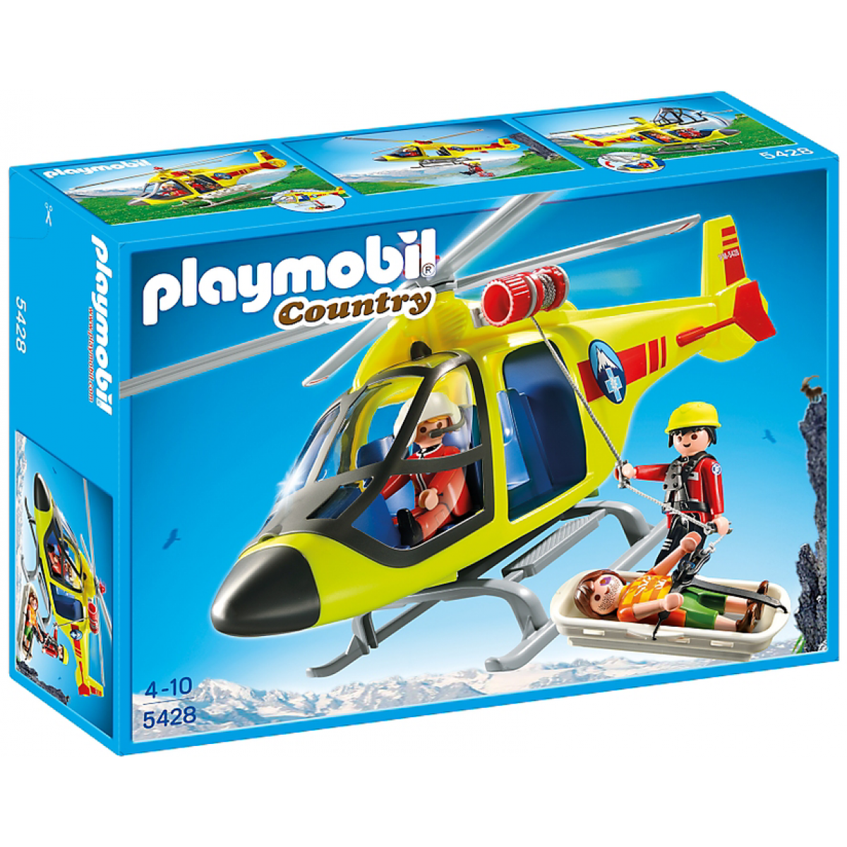 Playmobil 5428 - Helikoptéra horské služby