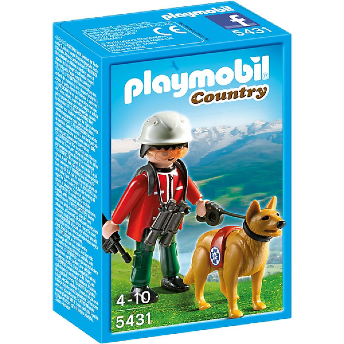 Playmobil 5431 - Horský záchranář a pes