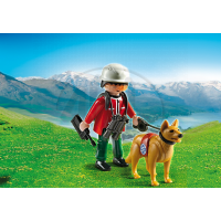 Playmobil 5431 - Horský záchranář a pes 2