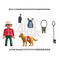 Playmobil 5431 - Horský záchranář a pes 3