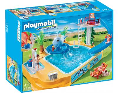 Playmobil 5433 - Kempingové koupaliště s fontánou