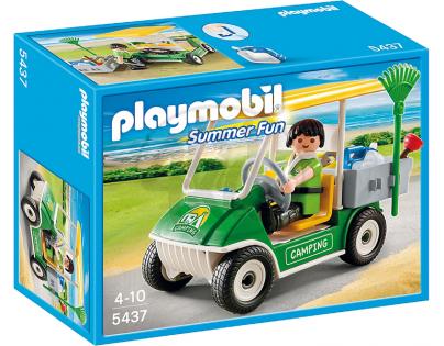 Playmobil 5437 - Auto zaměstnance kempu