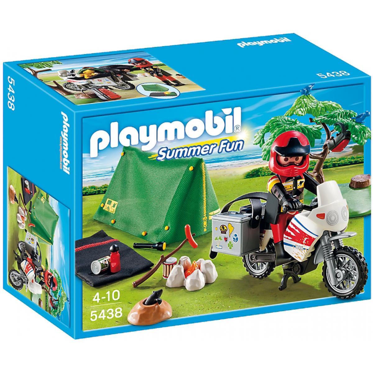 Playmobil 5438 - Motorkář v kempu