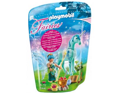 Playmobil 5441 Víla Zdraví s Jednorožcem Safírová noc