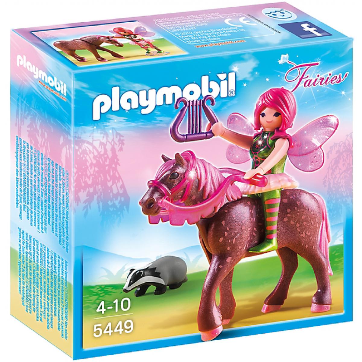 Playmobil 5449 - Lesní víla Surya na koni