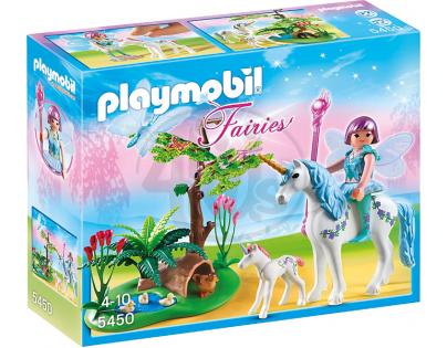 Playmobil 5450 - Víla Aquarella na louce Jednorožce