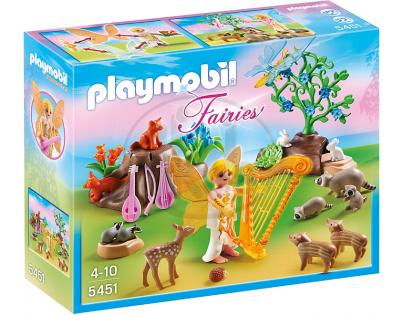 Playmobil 5451 - Písničková víla se zvířátky