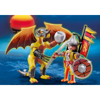 Playmobil 5462 Kamenný drak s válečníkem 2
