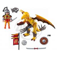Playmobil 5462 Kamenný drak s válečníkem 3