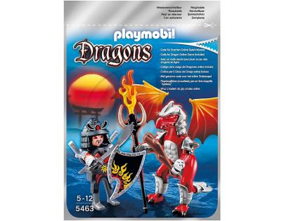Playmobil 5463 Ohnivý drak s válečníkem