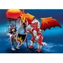 Playmobil 5463 Ohnivý drak s válečníkem 2