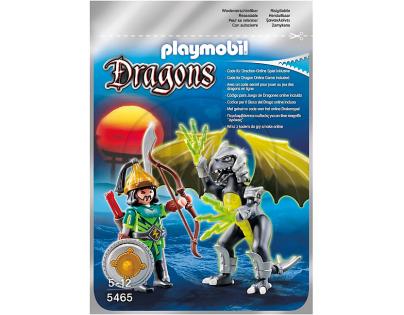 Playmobil 5465 Světelný drak s válečníkem