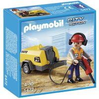 Playmobil 5472 - Dělník se sbíječkou
