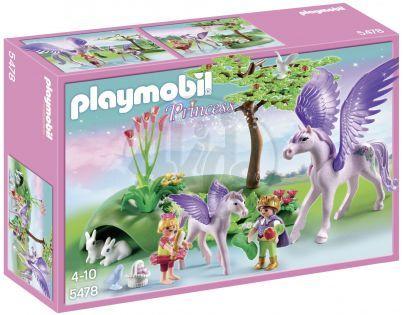 Playmobil 5478 - Královské děti s Pegasem
