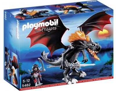 Playmobil 5482 - Velký válečný drak s LED ohněm