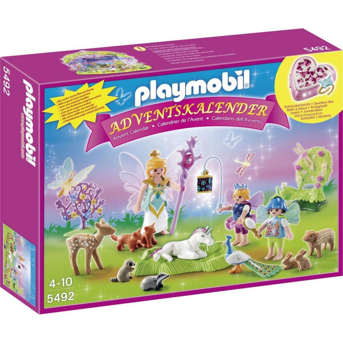 Playmobil 5492 Adventní kalendář Země Jednorožce - Poškozený obal