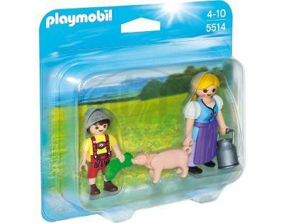 Playmobil 5514 Farmářka a dítě