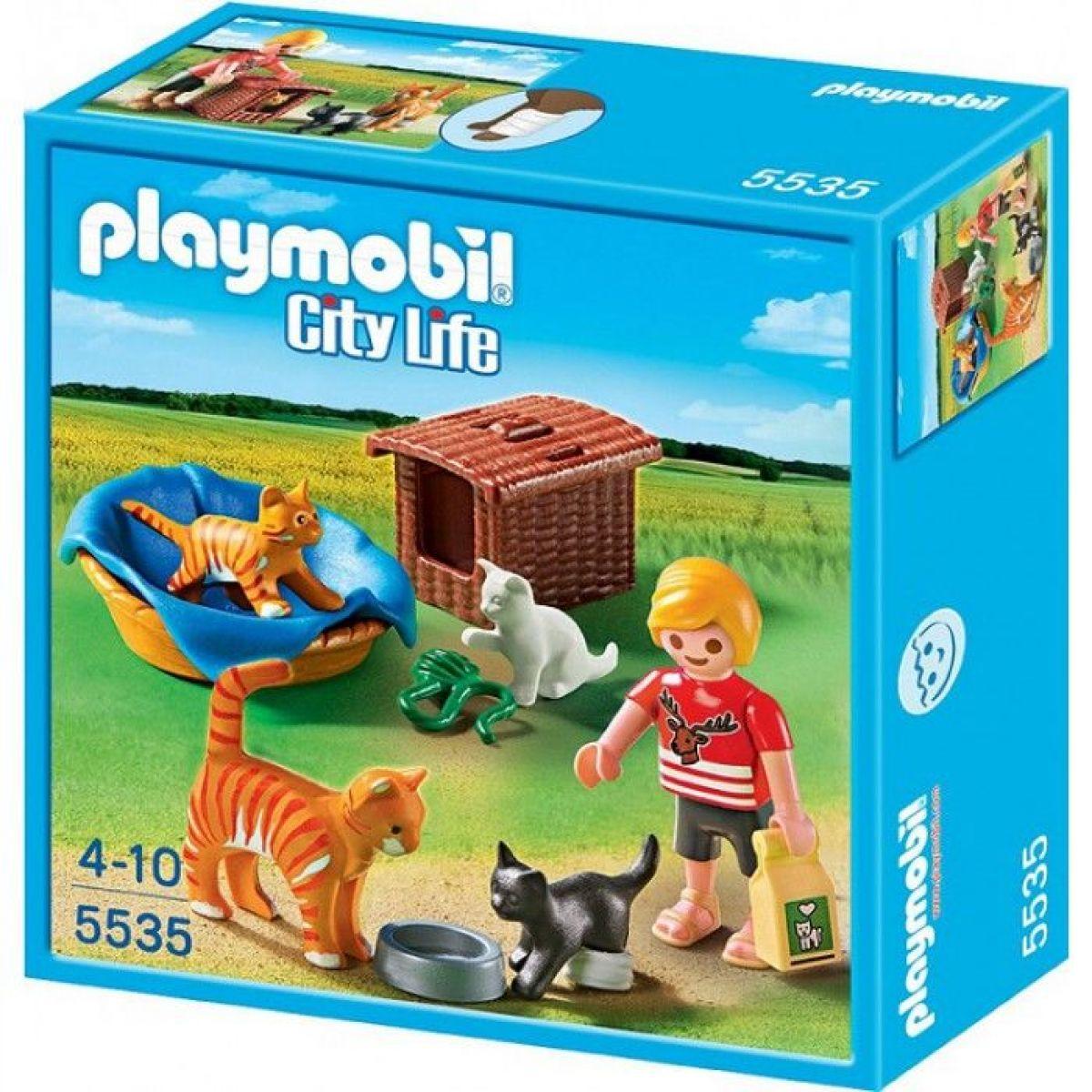 Playmobil 5535 Kočičí rodinka