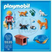 Playmobil 5535 Kočičí rodinka 3