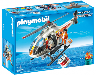Playmobil 5542 Požární helikoptéra