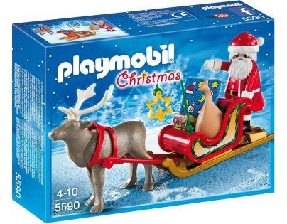 Playmobil 5590 Santa na saních