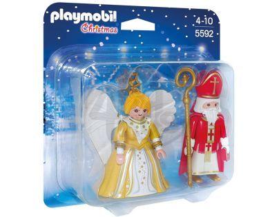 Playmobil 5592 Mikuláš s andělem