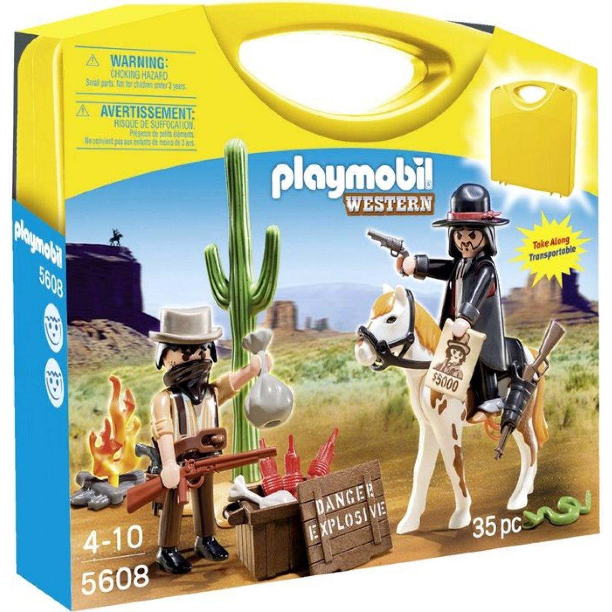 Playmobil 5608 Přenosný box Western