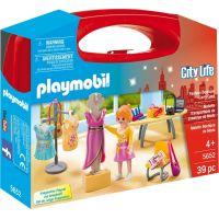 Playmobil 5652 Přenosný box Prodavačka v butiku