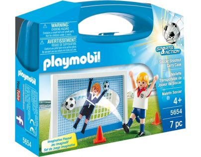 Playmobil 5654 Přenosný box Penalty