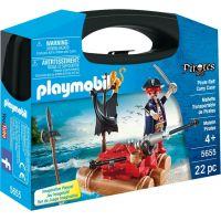 Playmobil 5655 Přenosný box Pirát na voru