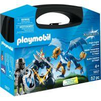 Playmobil 5657 Přenosný box Dračí rytíř s drakem