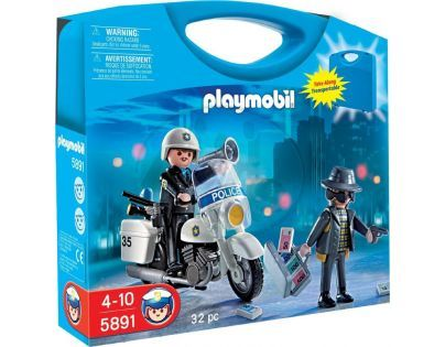 Playmobil 5891 Přenosný box Policie