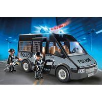 Playmobil 6043 Policejní zásahový vůz s majákem a houkačkou 2