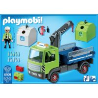Playmobil 6109 Nákladní vůz s kontejnery na sklo 3