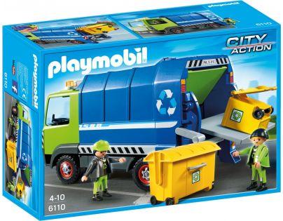 Playmobil 6110 Vůz na tříděný odpad