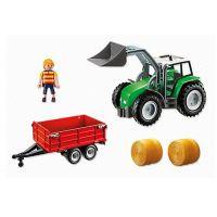 Playmobil 6130 Velký traktor s přívěsem 3