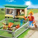 Playmobil 6140 Králíkárna s venkovním výběhem 2