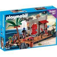 Playmobil 6146 Super Set Pirátská pevnost