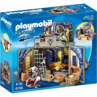 Playmobil 6156 Zavírací box Rytířská pokladnice s klíčem