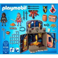 Playmobil 6156 Zavírací box Rytířská pokladnice s klíčem 3