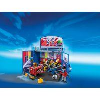 Playmobil 6157 Zavírací box - Motorkářská dílna 2