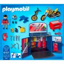 Playmobil 6157 Zavírací box - Motorkářská dílna 3