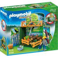 Playmobil 6158 Zavírací box - Krmení lesní zvěře