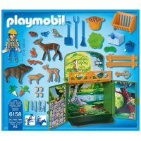 Playmobil 6158 Zavírací box s klíčem Krmení lesní zvěře 3