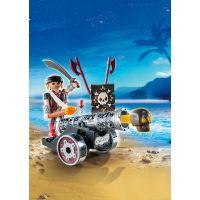 Playmobil 6165 Pirát s interaktivním černým kanónem 2