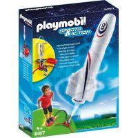 Playmobil 6187 Raketa s odpalovacím zařízením