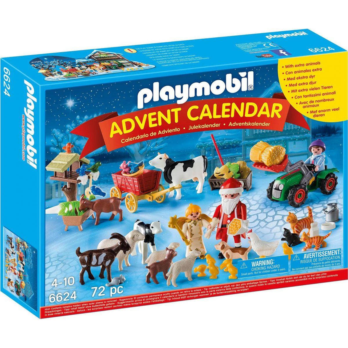 Playmobil Adventní kalendář Vánoce na farmě