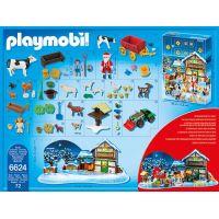 Playmobil Adventní kalendář Vánoce na farmě 2